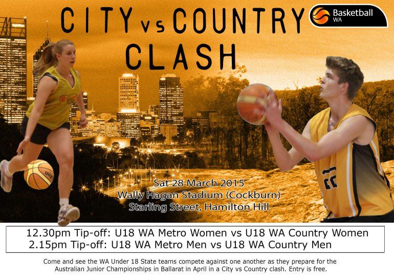 Under 18 City v Country Clash