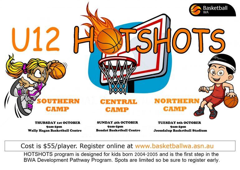 U12 Hot Shots Dates Announced