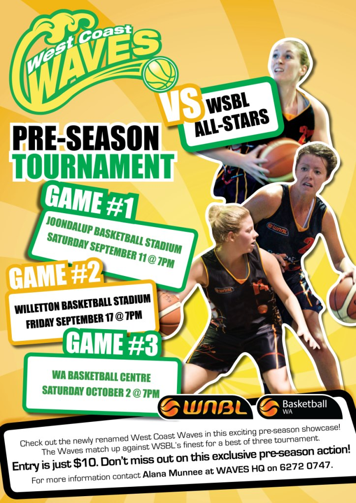 West Coast Waves Pre-Season Tournament