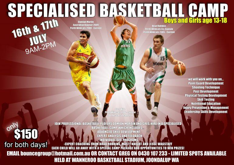 Bounce Group Basketball Camp