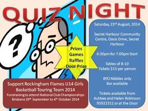 Rockingham Flames Quiz Night