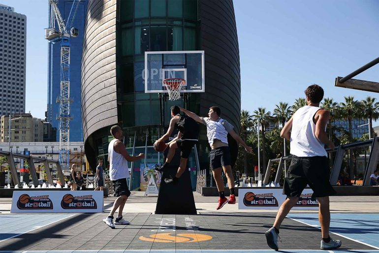 Streetball hits Sorrento Quay