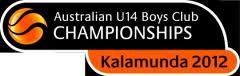 2012 U14 Boys Club Championships Kick Off at Kalamunda