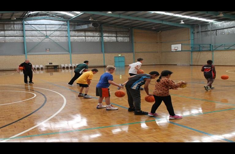 BWA & Communicare deliver Youth Basketball Program