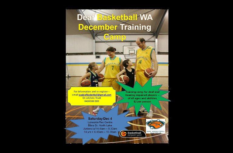 WA Deaf Basketball