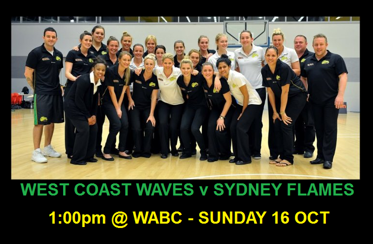 Waves Fans: See you at The Sandpit this Sunday!