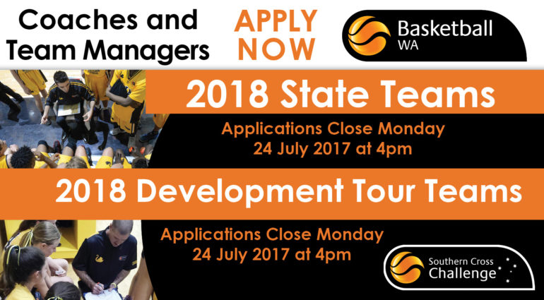 2018 State Team Staff Applications Open