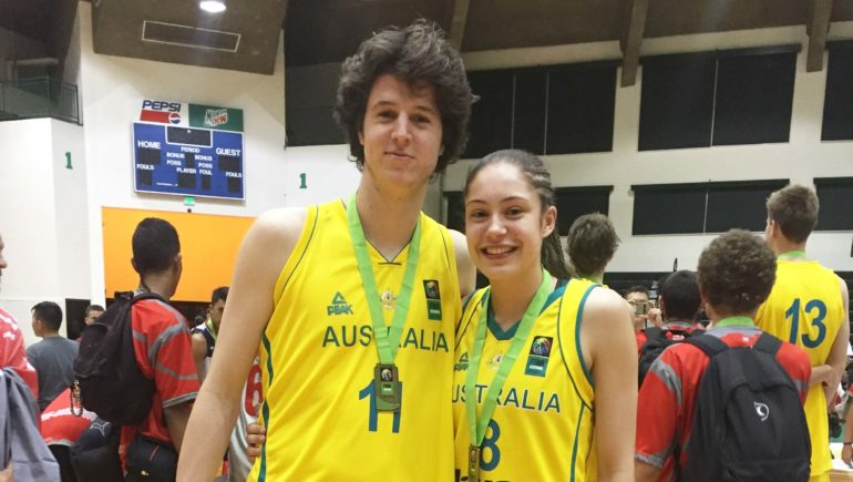 Gold Medals for our very own Emma Clarke and Kyle Bowen at the FIBA U17 Oceania Championships