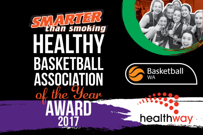 Smarter than Smoking Healthy Basketball Association of the Year Award 2017