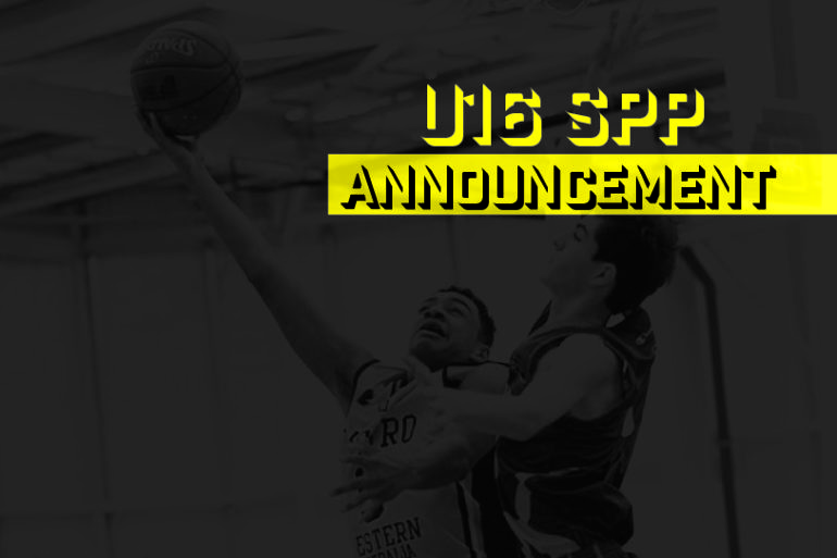 2017/2018 U16 SPP  – Squad Announcement