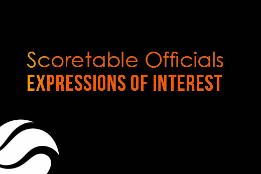 Scoretable Officials – Expression of Interest
