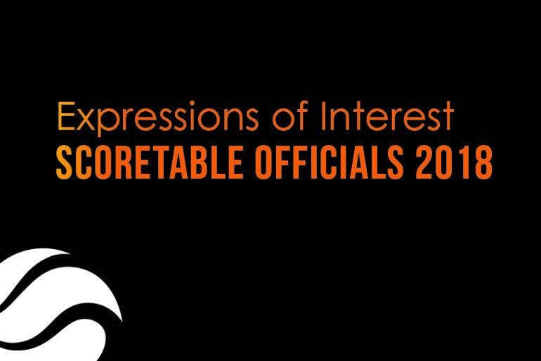 Scoretable Officials  – EOI
