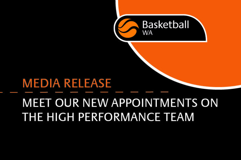 MEDIA RELEASE – HIGH PERFORMANCE TEAM
