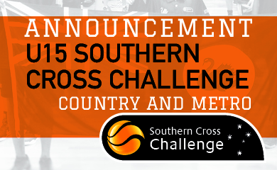 2019 Southern Cross Challenge U15 Team Selections