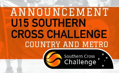 2019 Southern Cross Challenge U15 Team Selections