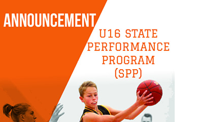 Announcement – U16 State Performance Program (SPP) Squad 2018/2019