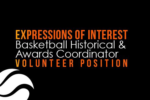 Basketball Historical and Awards Coordinator – Volunteer Position