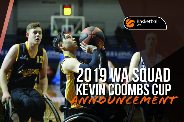 2019 WA Kevin Combs Cup Squad Announcement