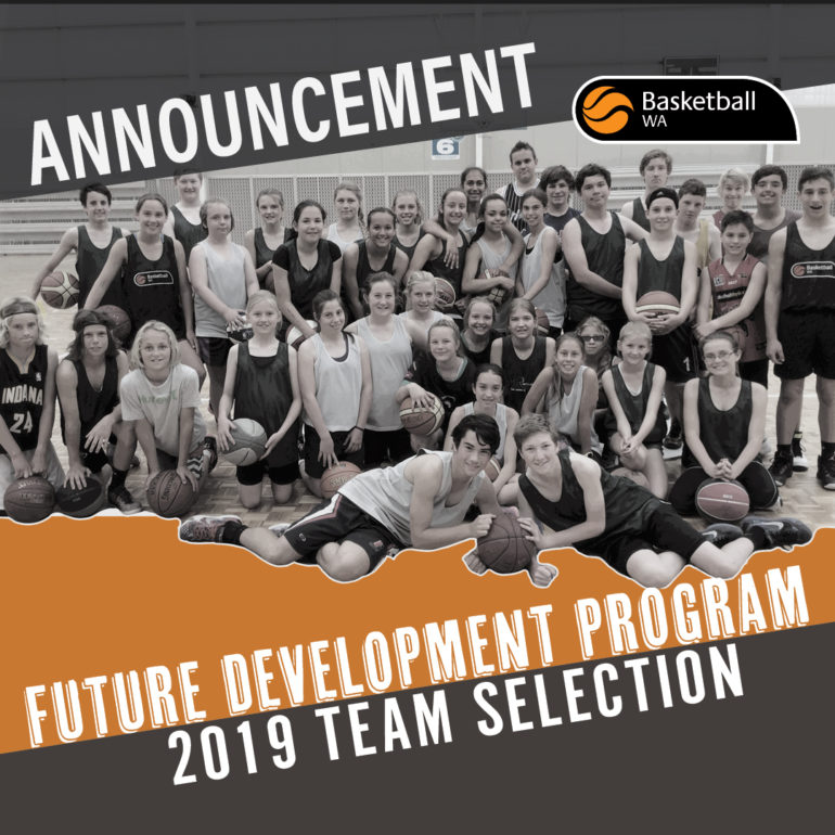 ANNOUNCEMENT – 2019 FDP TEAM SELECTION
