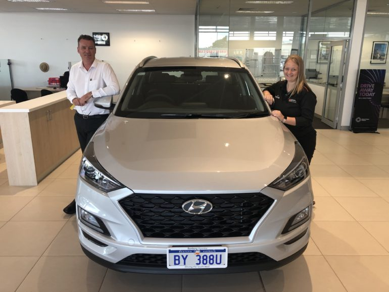Welcome Zane Bricite and Thank you Bunbury Hyundai