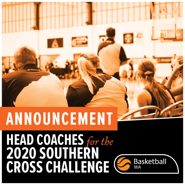 Announcement – Head Coaches for 2020 Southern Cross Challenge Tour