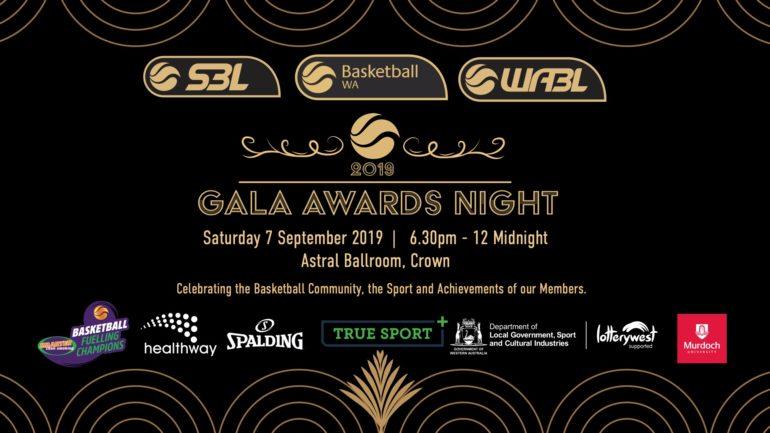 2019 Basketball WA Gala Awards Night