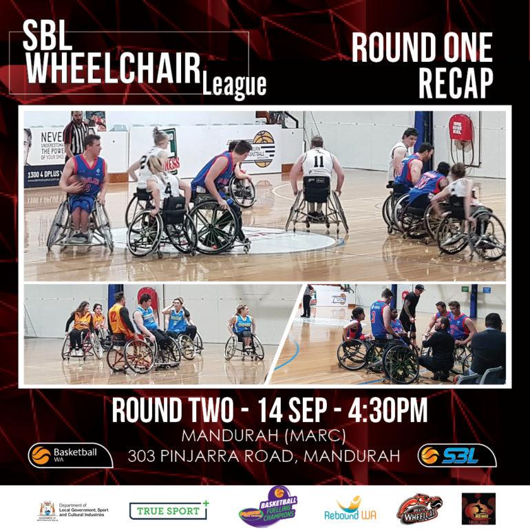 SBL Wheelchair League Round 1 Recap