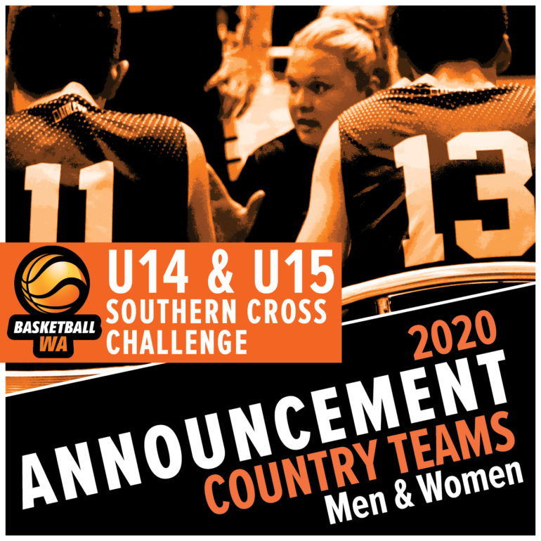Announcement – U14 and U15 Southern Cross Challenge – Country Teams for 2020