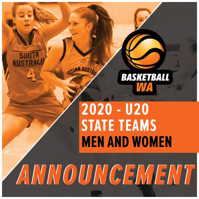 Announcement – 2020 U20 Men's and Women's
