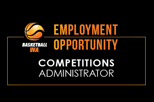EMPLOYMENT OPPORTUNITY – Competitions Administrator