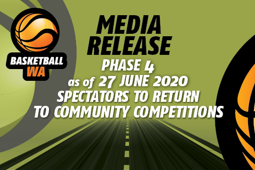 MEDIA RELEASE – SPECTATORS TO RETURN TO COMMUNITY COMPETITIONS