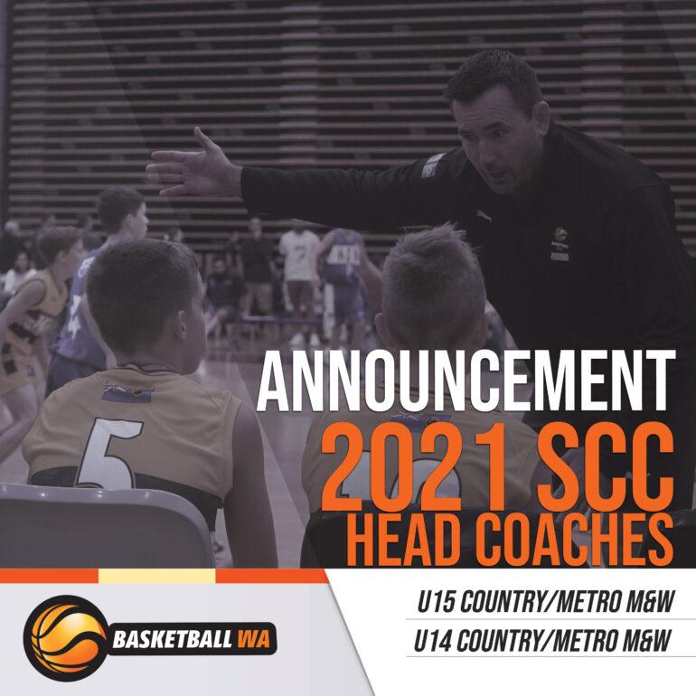 ANNOUNCEMENT – HEAD COACHES 2021 SCC TOUR