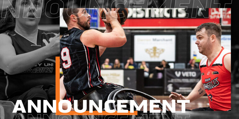 Basketball Australia Statement on the 2020 Wheelchair Basketball League Seasons