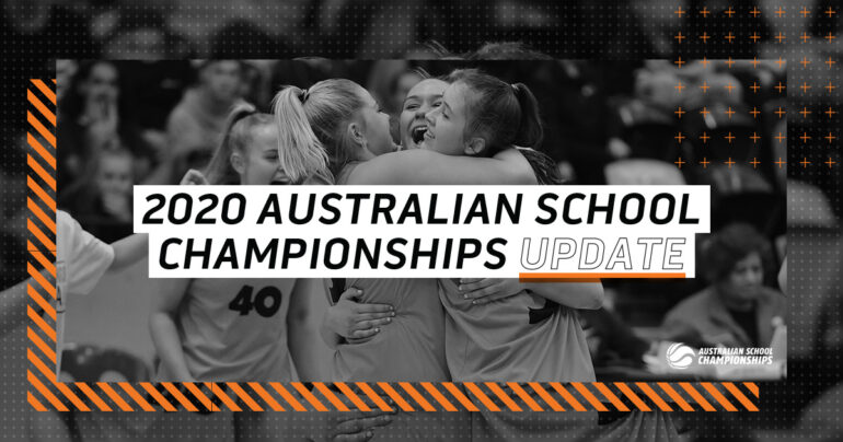 2020 AUSTRALIAN SCHOOL CHAMPIONSHIPS CANCELLED