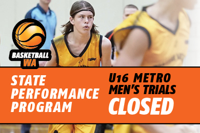 Men's State Performance Program (SPP) Trials closed