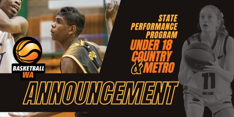 2021 U18 SPP Metro Men and Women and U18 Country Women