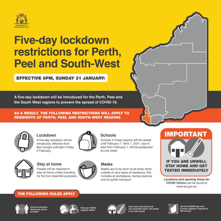 Five-Day Lockdown – BWA Activities & Bendat Basketball Centre