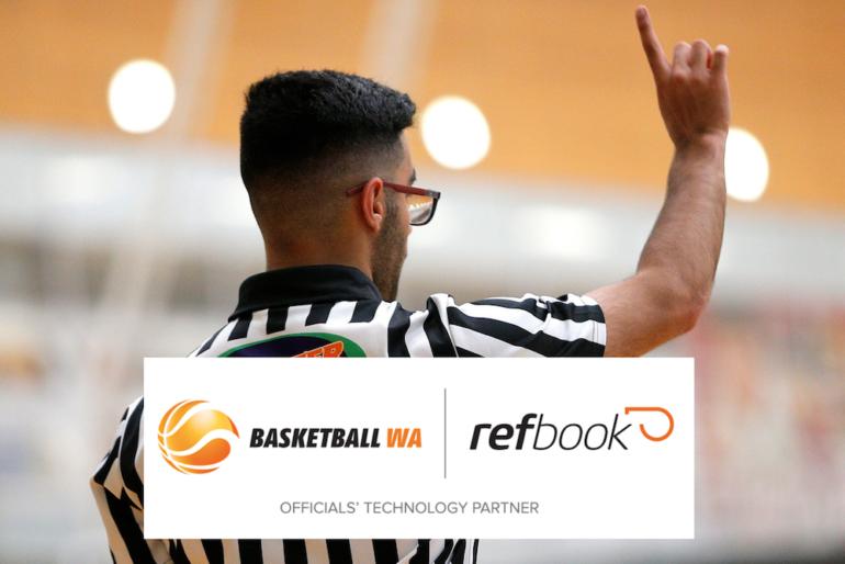Basketball WA and refbook Partner Up