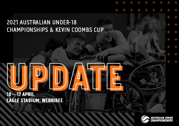 IMPORTANT UPDATE – 2021 KEVIN COOMBS CUP