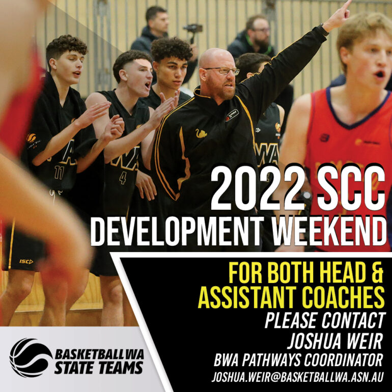 2022 SCC DEVELOPMENT WEEKEND COACH APPLICATIONS