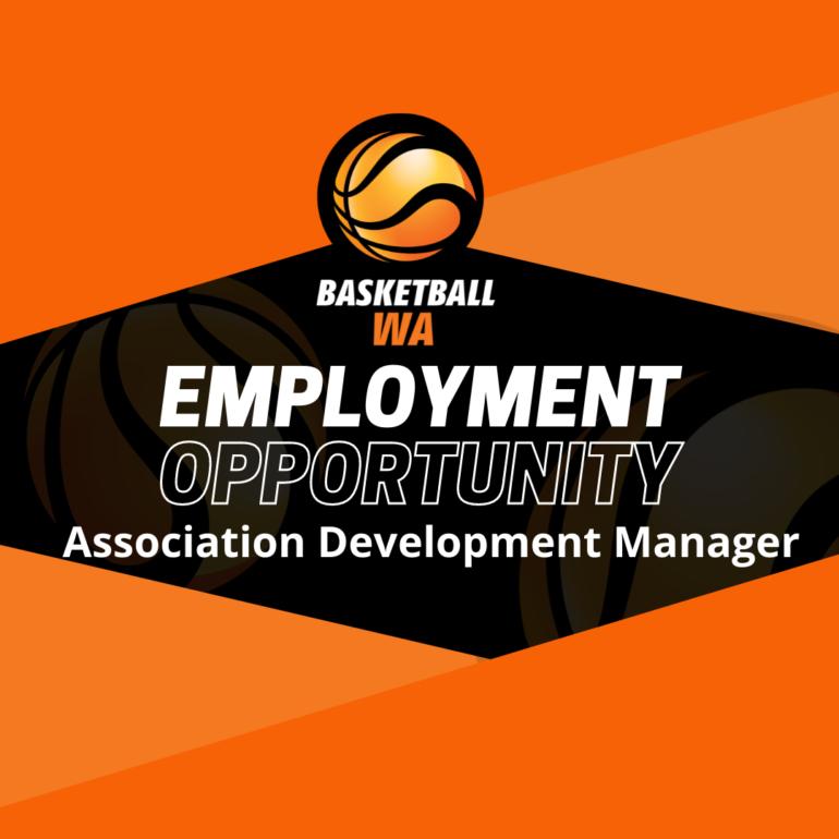 Employment Opportunity – Association Development Manager